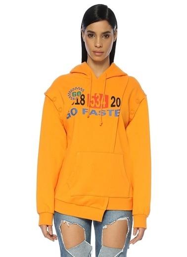 Sjyp Sweatshirt Oranj
